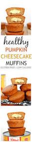 Starbucks Pumpkin Muffin Calories by Healthy Pumpkin Cheesecake Muffins