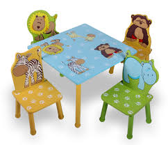 Child Furniture Study Desk Bundle Table Chair Combination Game Table ...