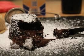 schokotörtchen fondant au chocolat der kulinarische