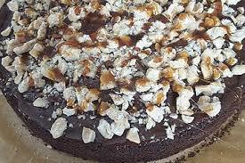 veganer snickers kuchen