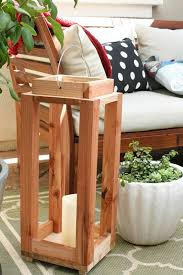 ana white build a diy pottery barn inspired lantern featuring