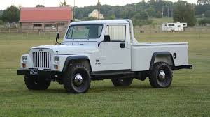 The Jeep CJ10 Is The Rare Jeep Pickup You Didn't Know You Needed ...