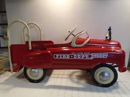 MURRAY FIRE TRUCK Pedal Car Vintage 1950s Jet Flow Drive City Fire ... A Late 20th Century Buddy L Childs Fire Truck Pedal Car Murray Fire Truck Pedal Car Vintage 1950s Jet Flow Drive City Fire Amf Fighter Engine Unit No 508 Sold Childs Metal Rescue Truck Approx 1m In John Deere M15 Nashville 2015 Baghera Childrens Toy 1938 Antique Engine Fully Stored Padded Seat 46w X Volunteer Department No8 Limited Edition No Generic Firetruck Stock Photo Edit Now Amazoncom Instep Toys Games These Colctible Kids Cars Will Be Selling For Thousands Of