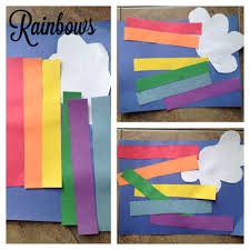 Toddler Rainbow Craft For St Patricks Day