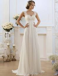 Dons Bridal A Line Bride Dress Sweetheart Neck Sweep Train Chiffon And Satin Vintage Wedding Dresses