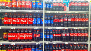 si e coca cola coca cola and pepsi bottles for sale editorial photo image of