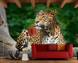 sri lanka leopard auf dem baum 3d tapete wandbild papel de parede wohnzimmer tv sofa wand schlafzimmer tapeten wohnkultur