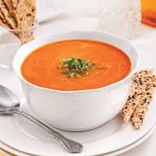 cuisiner les poivrons rouges velouté de poivrons rouges grillés entrées et soupes recettes