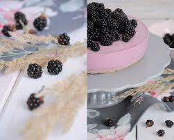 krümelkreationen brombeer mousse torte mit griechischem joghurt