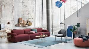 klare linien und coole farben machen das moderne wohnzimmer