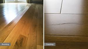 Hardwood Floor Cupping And Crowning by 6 Ways Humidity Can Affect Your Hardwood Floor Lauzon Flooring