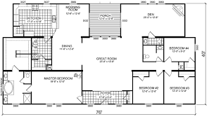 Oakwood Homes Floor Plans Modular by Triple Wide Mobile Home Floor Plans Manufactured Home And Mobile