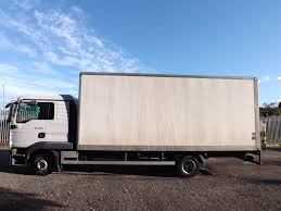 100 Straight Trucks For Sale With Sleeper MAN TGL 8180 75 Tonne Box Truck YJ59HLA HGV Traders