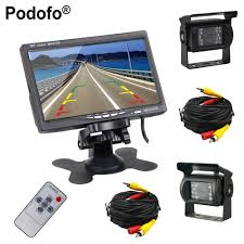 Podofo Dual Backup Camera And Monitor Kit For Bus Truck RV, LED ... Chevrolet And Gmc Multicamera System For Factory Lcd Screen 5 Inch Gps Wireless Backup Camera Parking Sensor Monitor Rv Truck Backup Camera Monitor Kit For Busucksemitrailerbox Ebay Cheap Rearview Find Deals On Pyle Plcm39frv On The Road Cameras Dash Cams Builtin Ir Night Vision Rear View Back Up Amazoncom Cisno 7 Tft Car And Mirror Carvehicletruck Hd 1920 New Update Digital Yuwei System 43