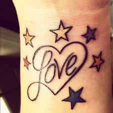 Lovely Stars Tattoos On Wrist In 2017 Real Photo Pictures