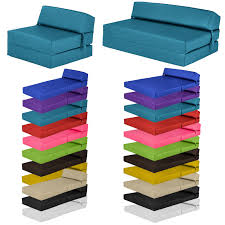 Foam Flip Chair Bed by Faux Leather Fold Out Z Bed Single Double Futon Chair Bed Sofa