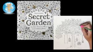 Secret Garden Coloring Book Review Indonesia By Johanna Basford Adult