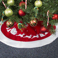 96 Christmas Tree Skirts How To Make A No Sew Vintage Inspired