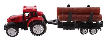 100 Toy Farm Trucks And Trailers Tractor With Trailer Super 9 Cm Red