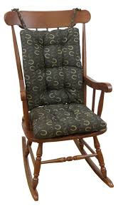 100 Jumbo Rocking Chair The Gripper Twill Roking Hair Ushions Lowes Camping S