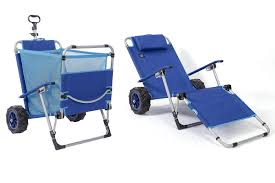 This Beach Chair Converts Into A Wagon And Cart - Coastal Living