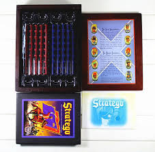 Stratego Famous Board Game Keesing Games English Vintage Chess Set Puzzle Party Children Gift Western Army