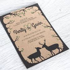 Items Similar To Woodland Wedding Invite