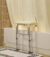 bench buddy adapted shower curtain whitaker for tub transfer