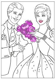 BARBIE COLORING PAGES BARBI