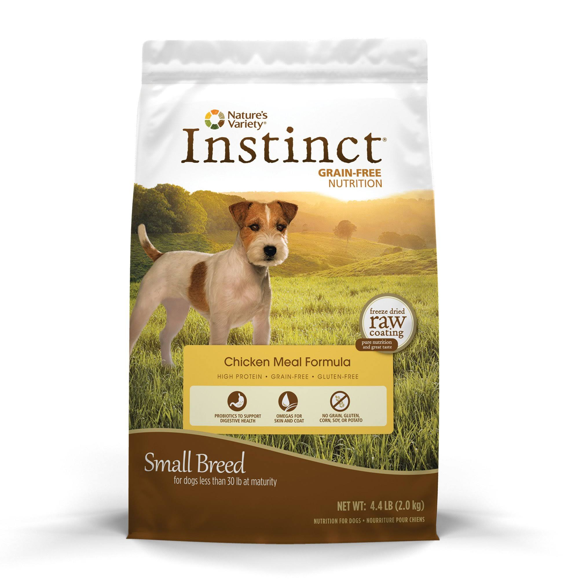 Natures Variety Instinct Dog Food - Grain Free, Chicken Meal Formula