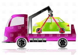 100 Tow Truck Clipart With Small Car Vector LaztTweet