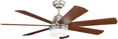 ge led ceiling fan light brushed nickel home cree bulbs medium
