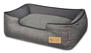 Chewproof Dog Bed by P L A Y Houndstooth Lounge Dog Bed U0026 Reviews Wayfair