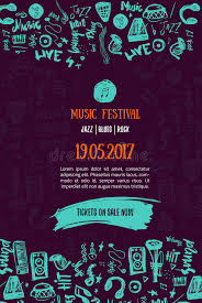 Download Music Concert Background Festival Modern Flyer Vector Illustration Event Poster Template Design