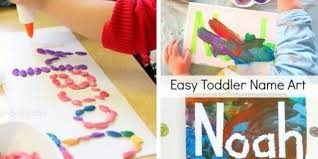 Kids Craft Ideas 15 Ways Can Get Creative With Their Names