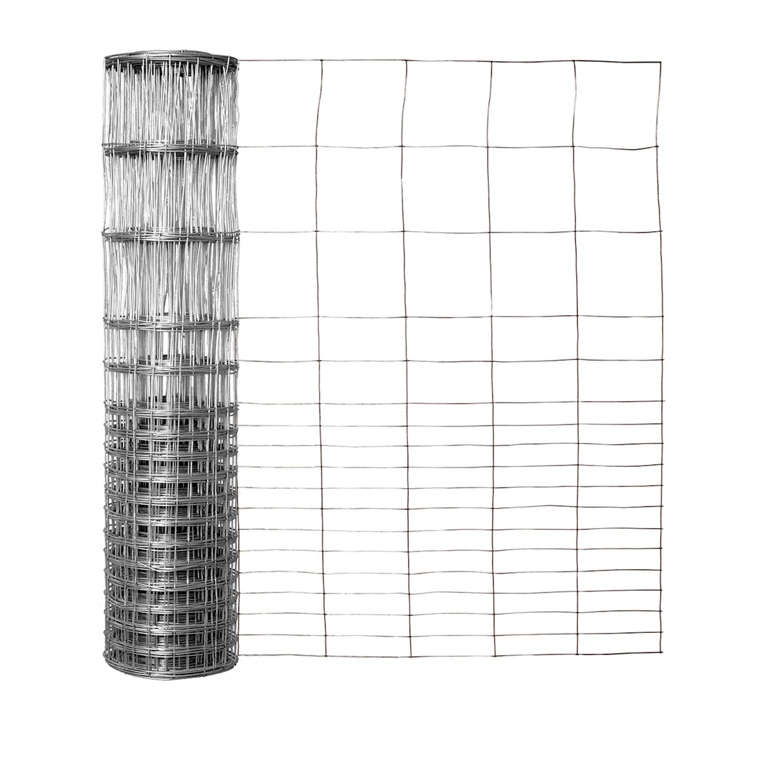 "Garden Zone Galvanized Rabbit Guard Fencing - 28"" x 50'"