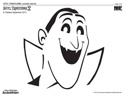Pumpkin Carving Outlines Printable by Hotel Transylvania 2 Pumpkin Carving Templates U2013 Craft Kiddies