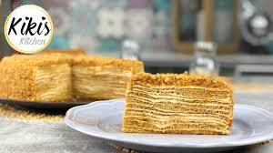 medovik marlenka kuchen rezept russischer honigkuchen medovnik medovník medena медовник