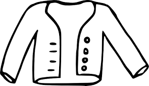 600x347 Clip Art Black And White Jacket Clipart