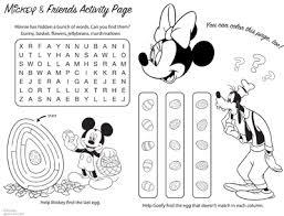 Simple Disney Easter Crafts