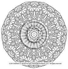 Free Mandala Coloring Pages To Print With Printable