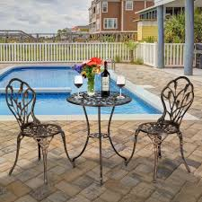 US $155.18 39% OFF|3 Piece Set European Style Cast Aluminum Outdoor Tulip  Bistro Set Of Table And Chairs Bronze Garden Chair-in Garden Sets From ... Outdoor Chairs Set Of 2 Black Cast Alinum Patio Ding Swivel Arm Chair New Elisabeth Cast Alinum Outdoor Patio 9pc Set 8ding Details About Oakland Living Victoria Aged Marumi In 2019 Armchair Cologne Set Gold Palm Tree Outdoor Chairs Theradmmycom Allinum Fniture A Guide Alinium Rst Brands Astoria Club With Lawn Garden Stools Bar Modway
