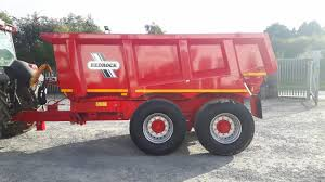 Redrock 18 Tonne Dump Trailer | Clarke Machinery
