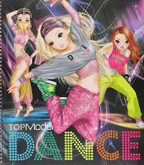 Album De Coloriage TOPModel DANCE Special Bruna BV Eigen Uitgaven