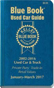 Kelley Blue Book Car Value Listings