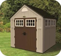 suncast 7 5x7 alpine resin storage shed kit bms7775