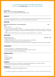 Mba Resume Sample Samples Format 3 Resize Resumes A 1 Marketing Template Fresher