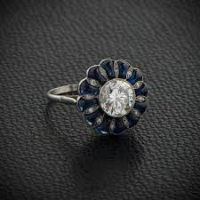 The History Of Sapphire In Vintage Engagement Rings