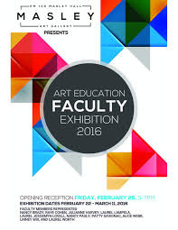Art Education Faculty Exhibition 2016