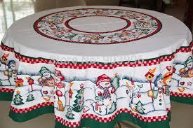 livraison gratuite ronde 152 cm de noël bonhomme de neige tissu